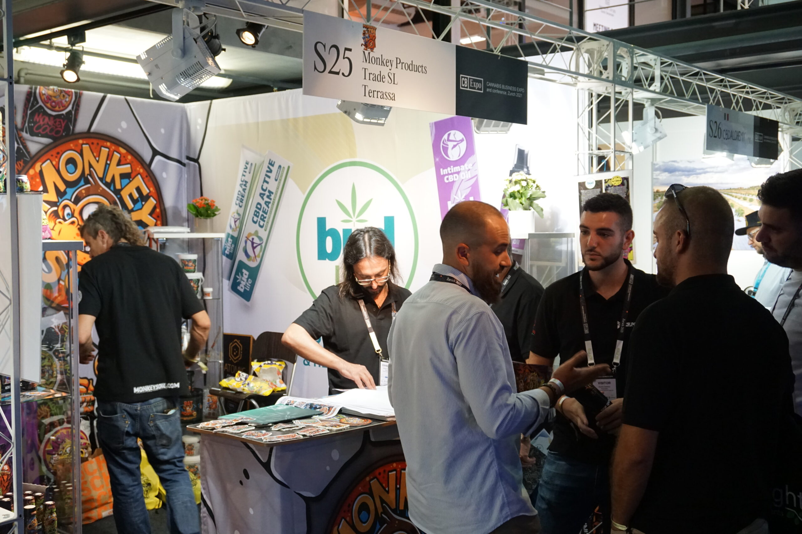 CB Expo stand
