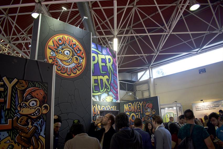 Monkey Soil en Spannabis Barcelona 2018 La feria más grande de Europa
