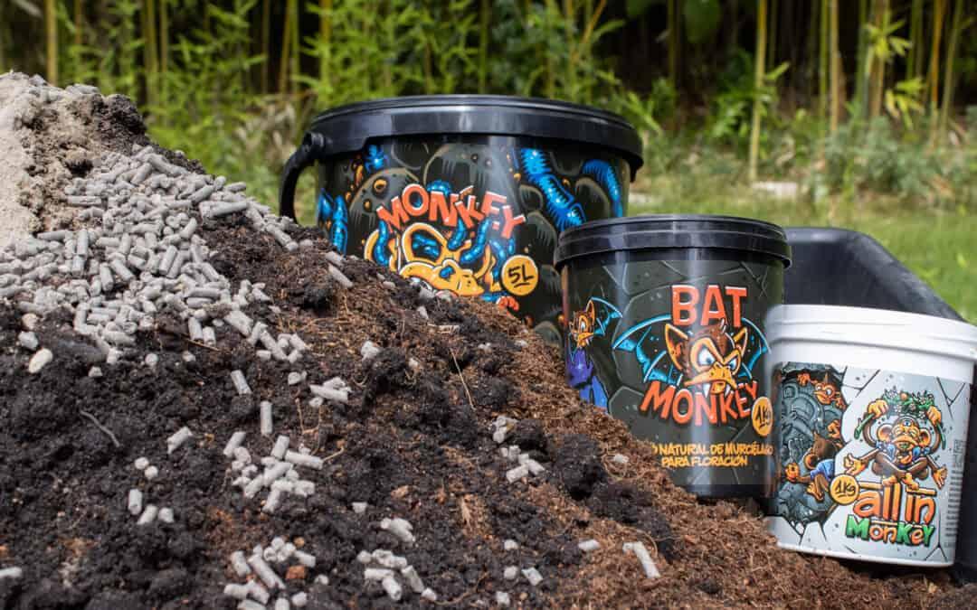 Elabora tu propio Super Soil con productos Monkey Soil ¡Presentamos nuestra receta de Super Soil definitiva con productos Monkey Soil!
